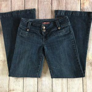 Makers Originals Low Rise Wide Leg Flare Jeans 29